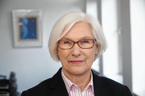 Irmgard Schwaetzer ist am Sonntag in der Kanderner Stadtkirche zu Gast.    Foto: zVg Foto: Weiler Zeitung