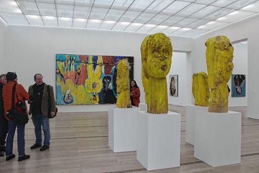 Blick in die Ausstellung   Foto: Gabriele Hauger Foto: Die Oberbadische