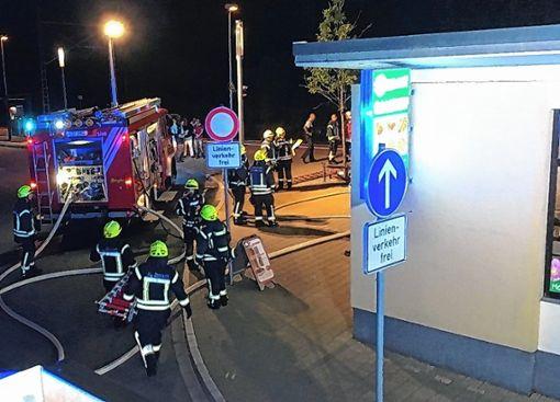 Durch das schnelle Eingreifen der Feuerwehr konnte verhindert werden, dass sich der Brand in der Gaststätte ausbreitet.   Foto: zVg Foto: Weiler Zeitung