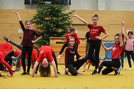 Impressionen der TuS-Nikolausfeier in der Neumatthalle. Foto: Kristoff Meller Foto: Kristoff Meller