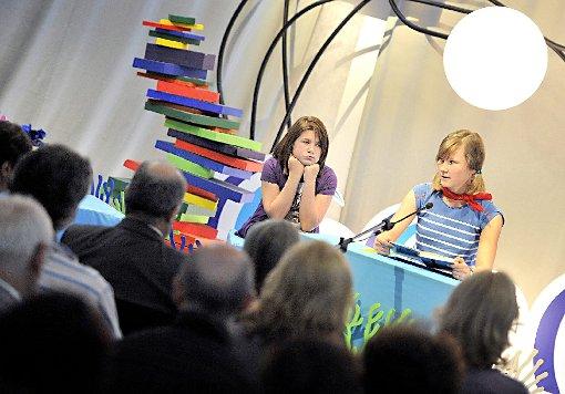 In der Stadtbibliothek werden die besten Vorleser gesucht.  Foto: Archiv Foto: Die Oberbadische