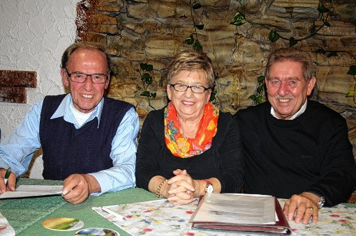 Bilanz zogen Gemeinderat Benno Gessner, Ute Kaiser-Hauwieler als Vorsitzende der Frauenunion und Vorsitzender Helmut Lang (von links).   Foto: Ines Bode Foto: Markgräfler Tagblatt
