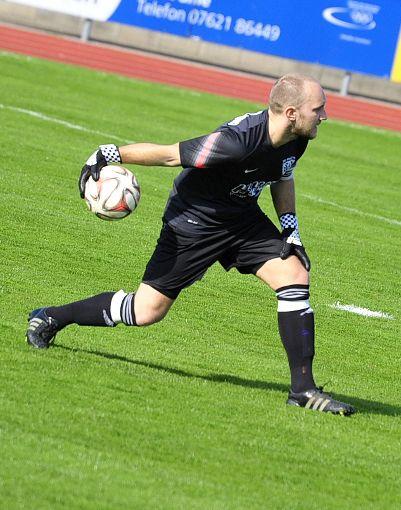 Torhüter Christoph Düster bestreitet mit dem SV Weil morgen ein Heimspiel gegen Elzach/Yach.  Foto: Mirko Bähr Foto: Die Oberbadische