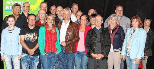 Sehen sich gut aufgestellt: Die Grünen im Kreis Lörrach.  Foto: zVg Foto: Die Oberbadische