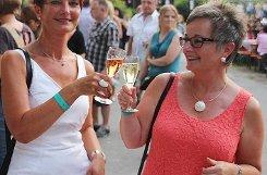Impressionen vom Sektfestival bei der Bezirkskellerei Efringen-Kirchen Foto: Siegfried Feuchter Foto: anl