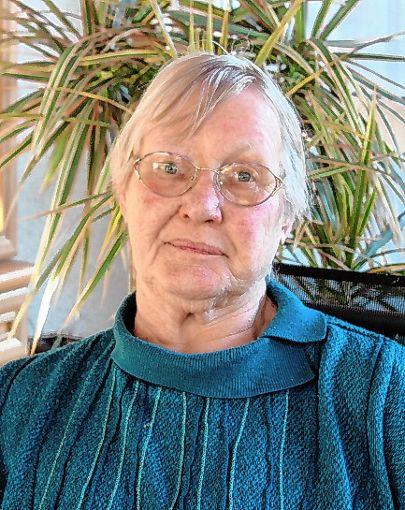 Helga Zanger ist 80 Jahre alt.   Foto: Reinhard Cremer Foto: Weiler Zeitung