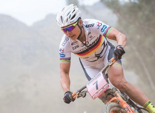 Sabine Spitz überzeugt mit Rang acht beim Weltcup-Auftakt.   Foto: zVg Foto: Die Oberbadische