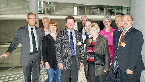 Die Handwerker kamen mit den Bundestagsabgeordneten ins Gespräch.  Foto: zVg Foto: Die Oberbadische