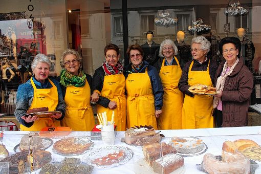 Die Frauengruppe der Freien Wähler aus Lörrach zählt zu den treuen Unterstützern der Aktion Leser helfen.    Fotos: Uta Schroeder Foto: Die Oberbadische