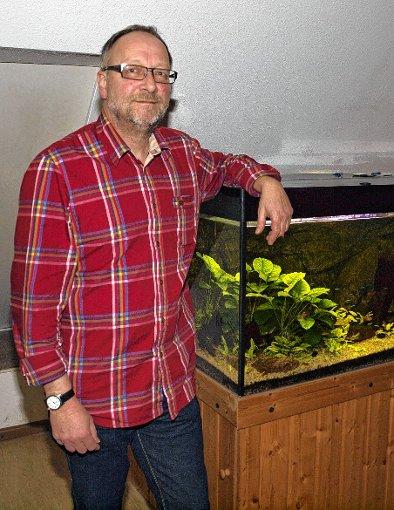 Andreas Wagner wurde in seinem Amt als Vorsitzender des Aquarianer-Teams Inzlingen  bestätigt.   Foto: Manfred Herbertz Foto: Die Oberbadische