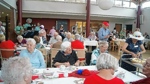 Im Pflegeheim Markgräflerland wurde ein Frühlingsfest gefeiert.   Foto: sc Foto: Weiler Zeitung