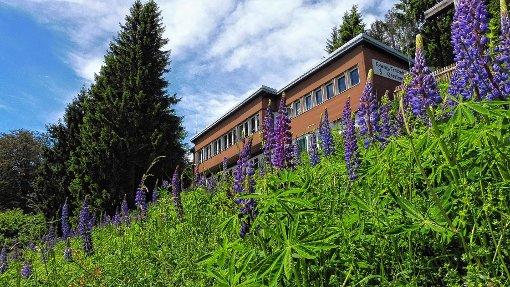 Das evangelische Freizeithaus bietet einen grandiosen Blick auf die Alpen.    Foto: zVg Foto: Markgräfler Tagblatt