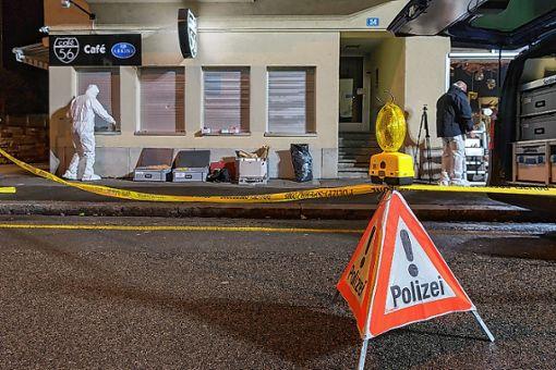"""Im Basler """"Café 56"""" fielen im März vergangenen Jahres tödliche Schüsse. Foto: Archiv"""