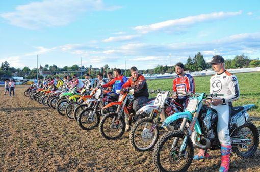 Die jungen Fahrer in der Enduroklasse kamen fast alle aus der Regio.   Fotos: Jutta Schütz Foto: Weiler Zeitung