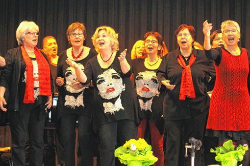 Frauenchor Steinen.   Foto: Heiner Fabry Foto: Markgräfler Tagblatt