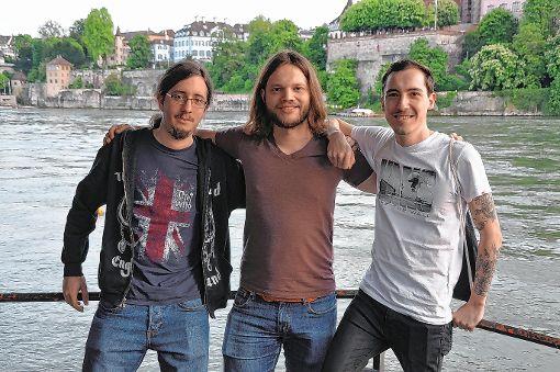 """Die Basler Rockband """"The Möles"""" spielt derzeit ihr zweites Album """"Out of Control"""" ein.  Foto: Heiko Trefzger Foto: Die Oberbadische"""