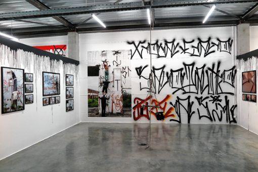 Wild und unbändig: Die Graffiti von Bruno Rodrigues und Fabio Vieira. Foto: Dorothee Philipp