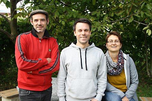 Für die Jugend im mobilen Einsatz (v.l.): Jan Funke, Mitja Frank und Christiane Hillig  Foto: Markus Greiß Foto: Die Oberbadische