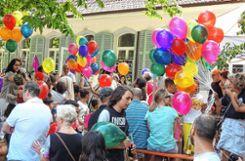 """Gelebte Vielfalt drückte das """"Miteinander""""-Fest des Stadtteilvereins aus.    Fotos: Martina Proprenter Foto: Weiler Zeitung"""
