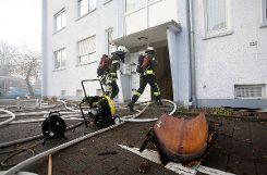 Die Rettungskräfte waren mit einem Großaufgebot im Einsatz. Foto: Kristoff Meller Foto: mek