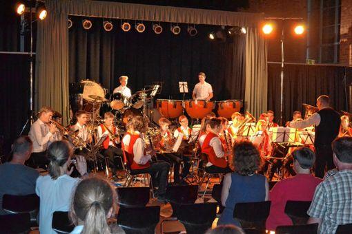 Die Schopfheimer Musiker bei einem ihrer Auftritte in Brandenburg. Foto: Markgräfler Tagblatt