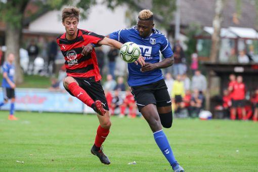 Beim FC Auggen wird Axel Imgraben (links) wohl gegen den FFC ausfallen. Foto: Archiv