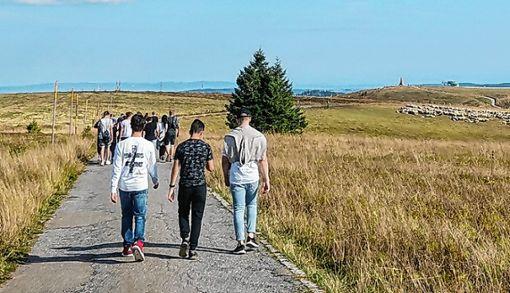 Auftakt der Veranstaltung war eine Wanderung auf den Feldberg.    Foto: zVg Foto: Die Oberbadische