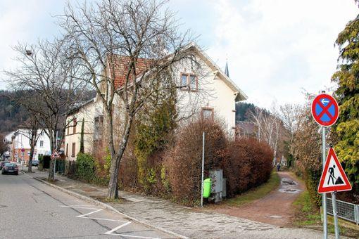 """Das Quartier rund ums """"Kohlengässle"""" ist Thema im Gemeinderat. Foto: Werner Müller"""
