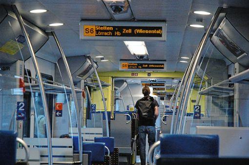 Stimmen aus Wirtschaft und Politik werden erneut laut, die Kandertalstrecke für den S-Bahn-Verkehr zu aktivieren.Archivfoto: Marco Fraune Foto: Die Oberbadische