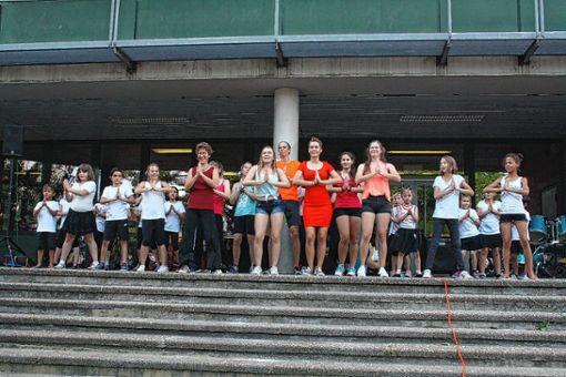 Vielfältige Darbietungen gab es beim  Kant-Sommerfest. Foto: Weiler Zeitung