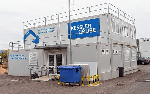 Das  Besucherzentrum beim Roche-Teil der Grenzacher  Keßlergrube wird Mitte April eröffnet.      Foto: zVg/Mediaville Foto: Die Oberbadische