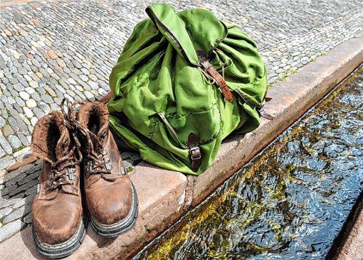Drei Tage lang waren die Pfadfinder auf Wanderschaft.      Foto: sba Foto: Weiler Zeitung