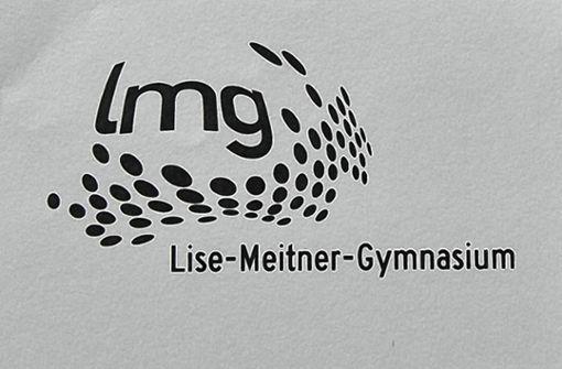 Mit diesem zum Jubiläum geschaffenen Logo will sich das Lise-Meitner-Gymnasium eine einheitliche Identität geben. Foto: Vollmar