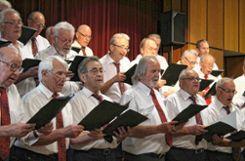 Klassisch gesetzte Chorliteratur setzte die Singgemeinschaft Grenzach-Wyhlen famos um. Foto: Markgräfler Tagblatt