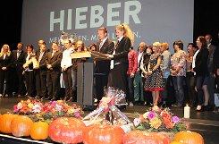 Impressionen der Gala zum 50. Geburtstag der Firma Hieber. Foto: Gerd Lustig Foto: mek