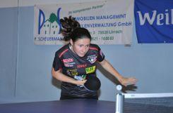 Ievgeniia Vasylieva wird auch in der kommenden Spielzeit die Nummer eins des ESV Weil sein.   Fotos: Archiv/zVg Foto: Die Oberbadische