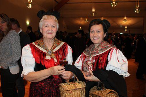 Der Neujahrsempfang in Schliengen fand gemeinsam mit dem Landkreis Lörrach statt.  Foto: Claudia Bötsch