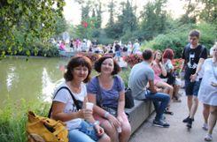 Stimmungsvolles Bad Bellinger Lichterfest 2018  Foto: boe