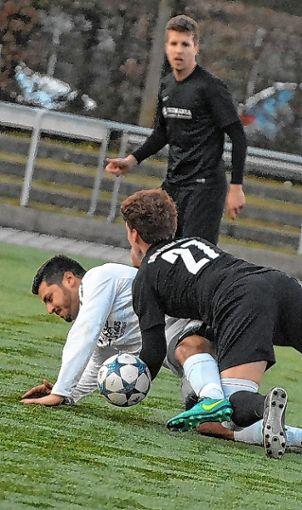 Guido Perrone erzielte alle Treffer für den SV Weil