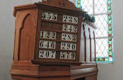 Die Kanzel muss erhalten bleiben, denn sie steht unter Denkmalschutz. Dabei wird sie von der alt-katholischen Gemeinde gar nicht genutzt.   Foto: Ulf Körbs Foto: Die Oberbadische