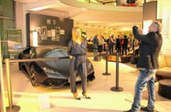 Beliebtes Fotomodell: Lamborghini Huracán. Foto: Markgräfler Tagblatt