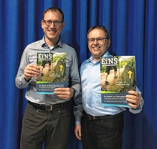 Daniel Chipman und  Rainer Reisgies  (von links) freuen sich auf eine rege Beteiligung an der Allianzgebetswoche.    Foto: zVg Foto: Markgräfler Tagblatt