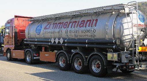 Zimmermann-Laster werden das BASF-Gelände in Grenzach-Wyhlen nicht verlassen. Die beiden Firmen haben den Ansiedlungsvertrag einvernehmlich aufgelöst.  Foto: Archiv Foto: Die Oberbadische