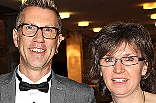 Christoph Braun und Andrea Steinebrunner organisieren den stilvollen Neujahrsempfang zum zwölften Mal. Foto: Siegfried Feuchter