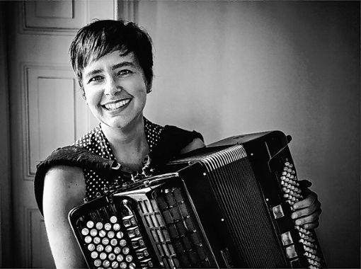 Akkordeonistin Viviane Chassot liebt Crossover-Projekte. Foto: Die Oberbadische