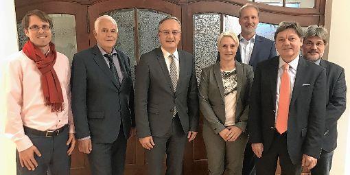 Bei einem Besuch von Vertretern der SPD-Landtagsfraktion an der DHBW wurde auch die Grundfinanzierung thematisiert.    Foto: zVg Foto: Die Oberbadische