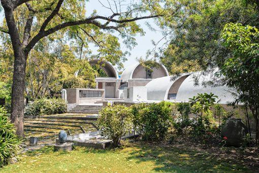 """Außenansicht von Doshis """"Sangath Architect's Studio"""". Foto: zVg/IwanBaan"""