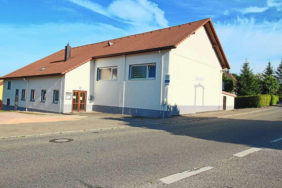 Jahnhalle in Steinen. Foto: Harald Pflüger Foto: Markgräfler Tagblatt