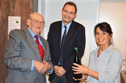 Die Adventsfeier der CDU-Senioren fand im Georg-Reimhardt-Haus statt.    Foto: Georg Diehl Foto: Markgräfler Tagblatt