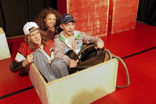 """Das Junge Theater inszeniert """"Tschick"""" von Wolfgang Herrndorf.  Foto: zVg Foto: Die Oberbadische"""